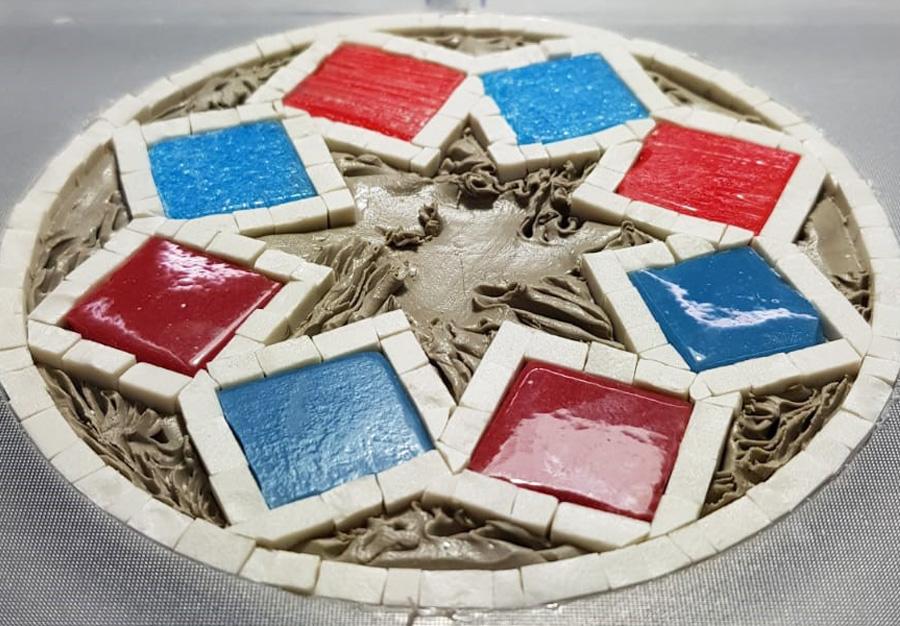 Logo Monrealetour in mosaico
