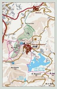 Mappa sentieri Monreale