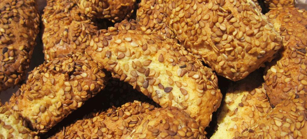 Biscotti con il sesamo | Biscotti con il cimino