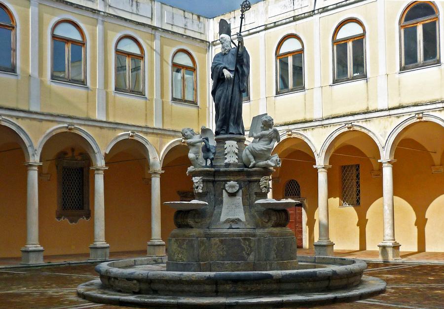 San Martino delle Scale - Fontana