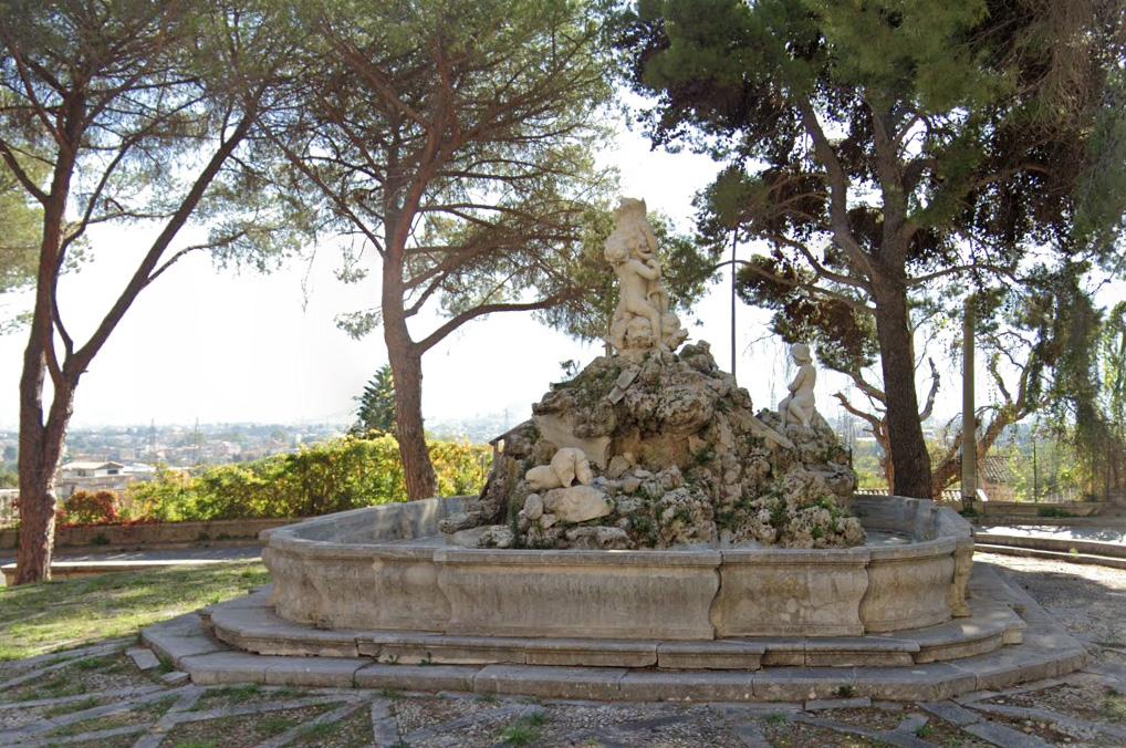 Fontana del Pescatore di Monreale