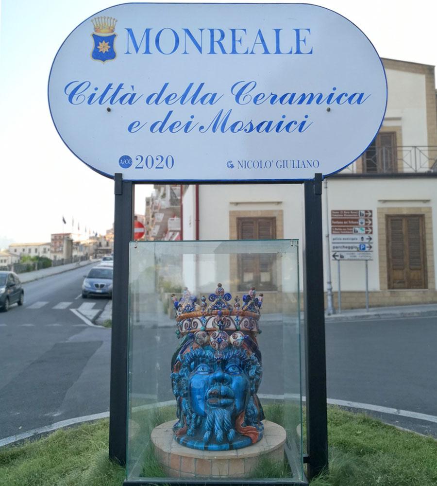 Testa di Moro Monreale